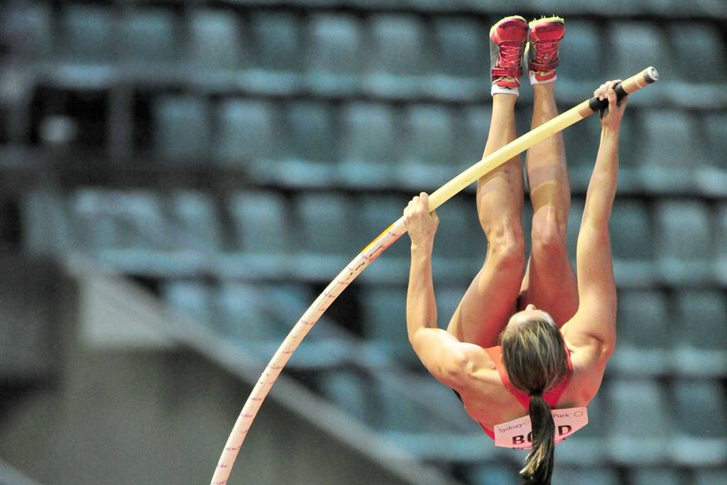 Athletic Centre - Pole Vault - Photography by Delly Carr