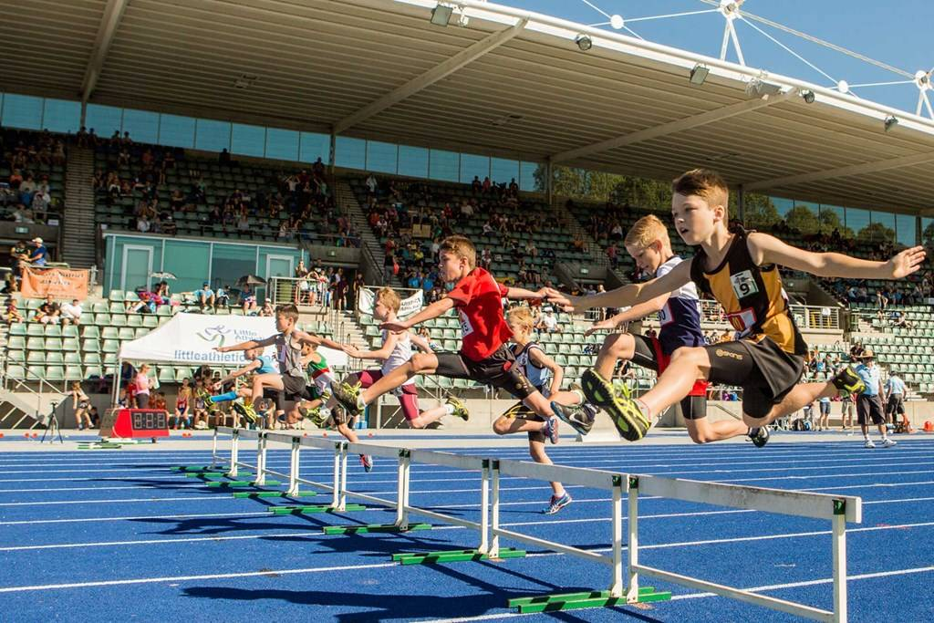 Athletic Centre - Hurdles - Little Athletics Championships - Photography by Rick Stevens